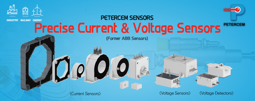 Precise Current & Voltage Sensors (Old ABB Sensors) Petercem Sensors